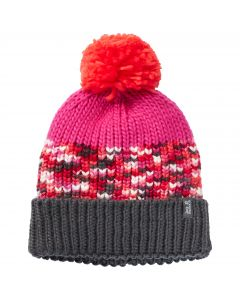 Czapka dla dzieci HOPEWELL CAP KIDS pink fuchsia