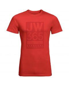Męski T-shirt 365 T M lava red
