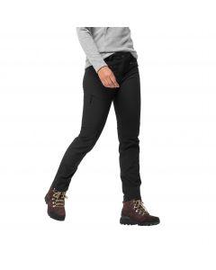Damskie spodnie softshellowe ACTIVATE SKY XT PANTS W Black