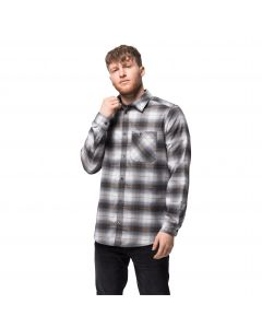 Koszula męska LIGHT VALLEY SHIRT pebble grey checks