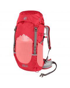 Plecak turystyczny dla dzieci PIONEER 22 PACK Tulip Red