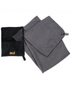 Ręcznik szybkoschnący WAFFLE TOWEL M pebble grey