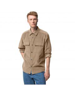 Koszula męska sztruksowa NATURE SHIRT M Beige
