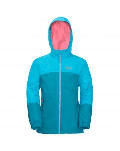 Dziewczęca kurtka 3w1 G ICELAND 3IN1 JKT atoll blue