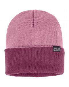 Czapka Jack Wolfskin  RIB HAT dusty pink