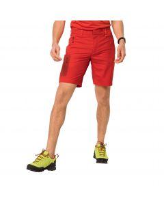 Krótkie spodenki męskie ACTIVE TRACK SHORTS MEN lava red