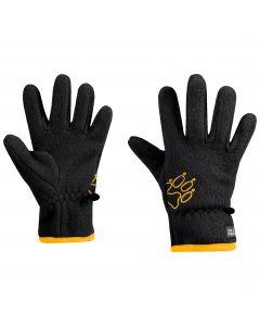Rękawiczki dla dzieci BAKSMALLA FLEECE GLOVE KIDS black