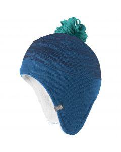 Czapka zimowa dziecięca SNOWFLAKE CAP KIDS indigo blue