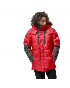Męska parka puchowa THE COOK PARKA red lacquer