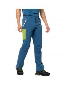 Spodnie softshell męskie OVERLAND PANTS M indigo blue