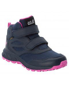 Buty dla dzieci WOODLAND TEXAPORE MID VC K Blue / Pink