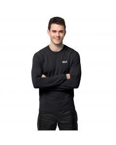 Koszulka z długim rękawem męska INFINITE L/S M Black