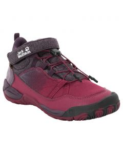 Buty dziecięce JUNGLE GYM TEXAPORE MID K dark red / purple