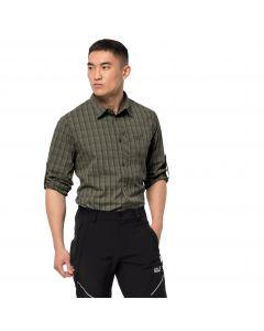 Koszula męska RAYS FLEX SHIRT M Grape Leaf Checks