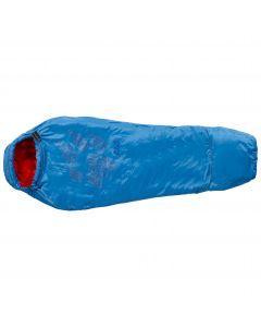 Śpiwór syntetyczny dziecięcy GROW UP KIDS brilliant blue