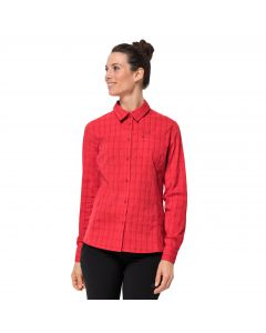 Koszula damska CENTAURA FLEX SHIRT W red fire