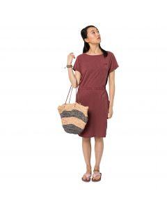 Sukienka sportowa TRAVEL DRESS auburn