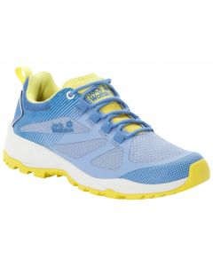Buty sportowe damskie FAST STRIKER LOW W light blue / lemon