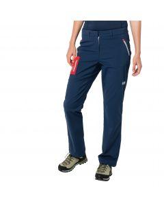 Spodnie softshell damskie OVERLAND PANTS W dark indigo