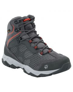 Trekkingi damskie ROCK HUNTER TEXAPORE MID W pebble grey / orange
