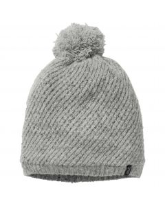 Czapka damska STORMLOCK WOOL CAP WOMEN light grey
