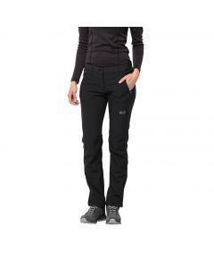 Damskie spodnie softshellowe ZENON SOFTSHELL PANTS WOMEN black