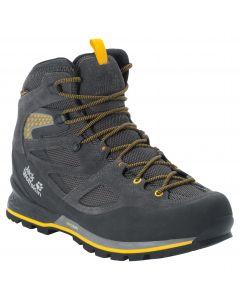 Buty trekkingowe męskie FORCE CREST TEXAPORE MID M Black / Burly Yellow Xt