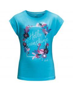 T-shirt dla dziewczynki SUNSHINE T GIRLS atoll blue