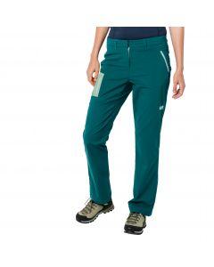 Spodnie softshell damskie OVERLAND PANTS W dark spruce