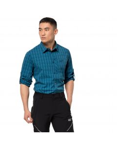Koszula męska RAYS FLEX SHIRT M Dark Cobalt Checks