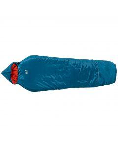 Śpiwór syntetyczny dziecięco-młodzieżowy GROW UP COMFORT moroccan blue