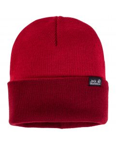 Czapka Jack Wolfskin  RIB HAT indian red