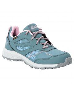 Buty dla dzieci WOODLAND TEXAPORE LOW K grey pink