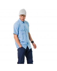 Koszulka THOMPSON SHIRT MEN cool water checks