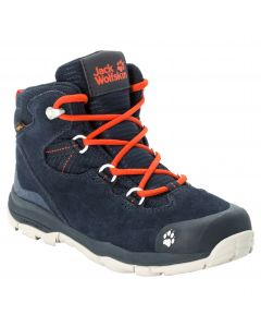 Buty trekkingowe dla dzieci MTN ATTACK 3 LT TEXAPORE MID K Dark Blue / Orange
