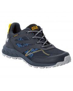 Buty dla dzieci WOODLAND TEXAPORE LOW K dark blue / yellow