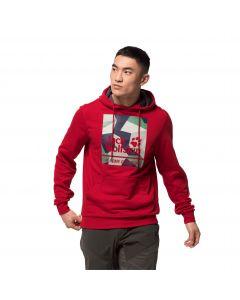 Bluza męska 365 HIDEAWAY HOODY M red lacquer