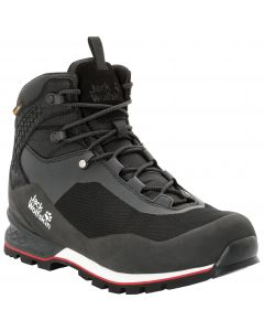 Buty górskie męskie WILDERNESS LITE TEXAPORE MID M black / red