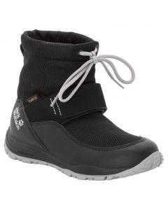 Buty zimowe dla dzieci KIWI WT TEXAPORE MID K black / grey