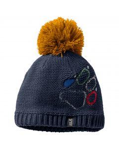 Czapka zimowa dziecięca PAW KNIT CAP KIDS night blue