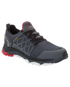 Buty na wędrówki TRAIL INVADER SHIELD LOW M ebony / red