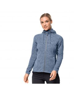 Damska kurtka z kapturem  PATAN HOODED JACKET W bluewash