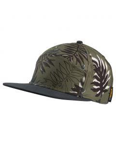 Czapka LEAF CAP woodland green allover