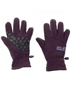 Rękawiczki dla dziecka FLEECE GLOVE KIDS aubergine