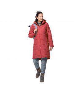 Płaszcz damski NORTH YORK COAT W Coral Red