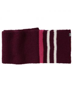 Szalik ROCK KNIT SCARF dark berry