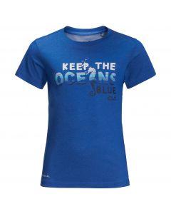 Koszulka dziecięca OCEAN WAVE T KIDS coastal blue
