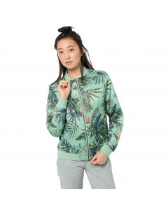 Kurtka damska TROPICAL BLOUSON W light jade all over