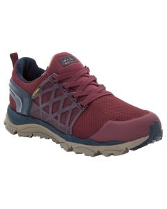 Buty na wędrówki TRAIL INVADER SHIELD LOW W burgundy / dark blue