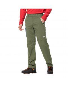 Spodnie z odpinanymi nogawkami OVERLAND ZIP AWAY M light moss